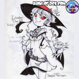 Inktober 2017 Day 29- Witch